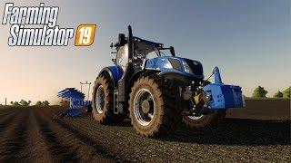 NOWY PŁUG I ORKA NA POLU - NEW HOLLAND - Farming Simulator 19 #14