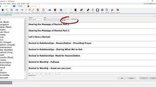 Wordsearch 12 - Sermons and Illustrations Database