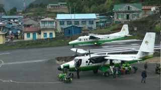 Lukla airport • Air show