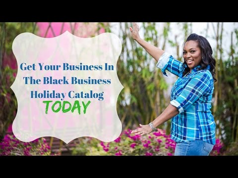 SIGN UP FOR: The 2016 Black Business Holiday Catalog