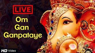 LIVE -Om Gan Ganpataye - Ganesha Chant | Ganesh Chaturthi | Ganpati Bappa | Lalitya Munshaw