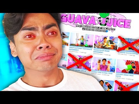 Thumbnail: Top 10 YOUTUBERS WHO PERMANENTLY QUIT! (Guava Juice, KSI, 1 Million Subscribers)