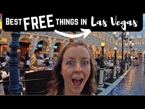 43 BEST things for FREE on the LAS VEGAS STRIP