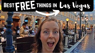 Gambar cover 43 BEST things for FREE on the LAS VEGAS STRIP