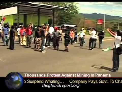 Thousands Protest Against Mining In Panama