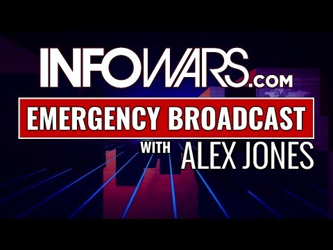 LIVE 🚨 EMERGENCY BROADCAST 2/24/18 ► ALEX JONES RESPONDS TO CNN TRYING TO BAN INFOWARS