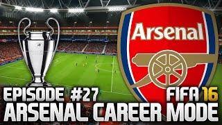FIFA 16: ARSENAL CAREER MODE #27 - MAKE OR BREAK!!!