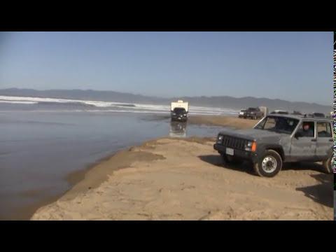 Pismo Beach High Tide Crossing 2010