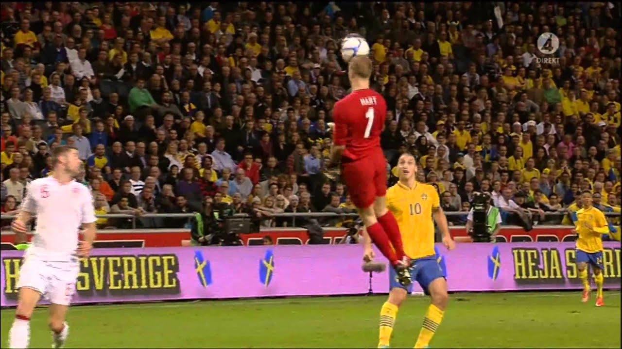 Sweden vs England   4 - 2   Ibrahimovic Incredible Goal ...