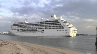 Fort Lauderdale sail away-Pacific Princess and Celebrity Equinox