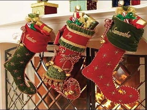 christmas stocking decorating ideas - Christmas Stocking Decorating Ideas