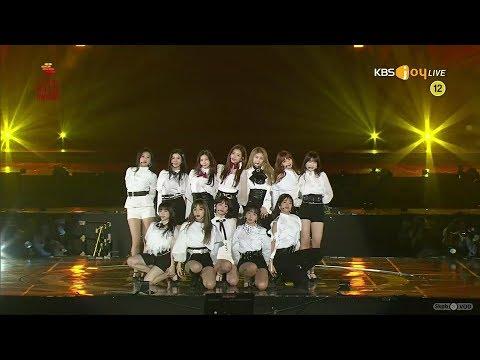 IZONE 💫💫💫 Intro + La Vie en Rose 28th Seoul Music Awards HD1080p 60fps (190115)