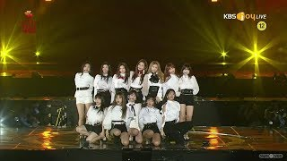IZONE 💫💫💫 Intro + La Vie en Rose 28th Seoul Music Awards HD1080p 60fps (190115)