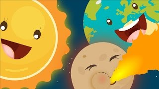 The Planet Song ☀☽🌎 | Solar System Song | Learning Planets For Children | Nursery Rhyme With Lyrics