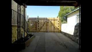 Cedar Fence/gate