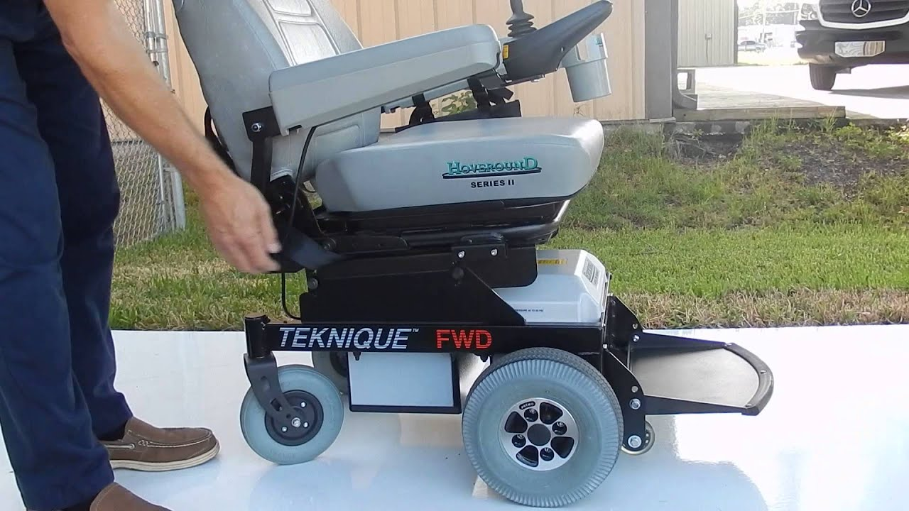 Hoveround Teknique FWD with Pan Seat 350 lb Weight Capacity by