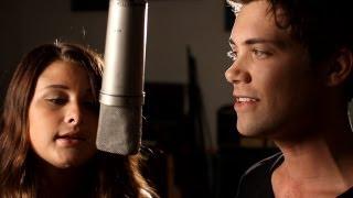 Beneath Your Beautiful - Labrinth ft. Emeli Sande - Acoustic Cover - Savannah Outen & Drew Seeley