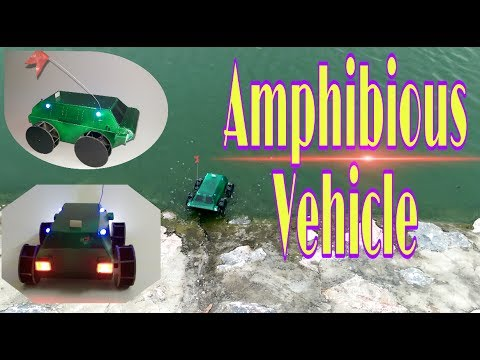 Wow! Amazing How To Make A RC Amphibious Vehicle DIY || Underwater Car || Boar Hat