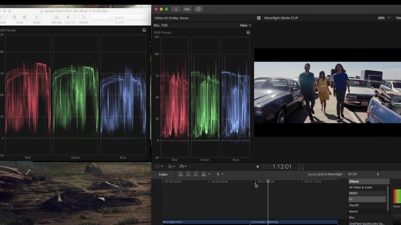 How to Match a Film Look with Basic Color Correction Tools