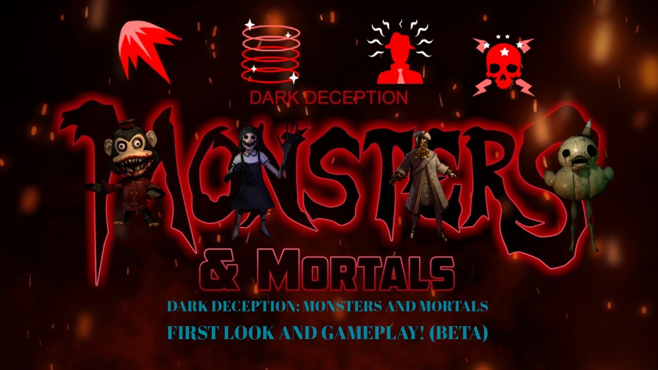 Dark Deception Monsters And Mortals Beta First Official Look And Gameplay Youtube