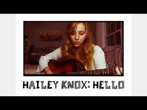 Cover of Hello by Adele (Hailey Knox Rendition)