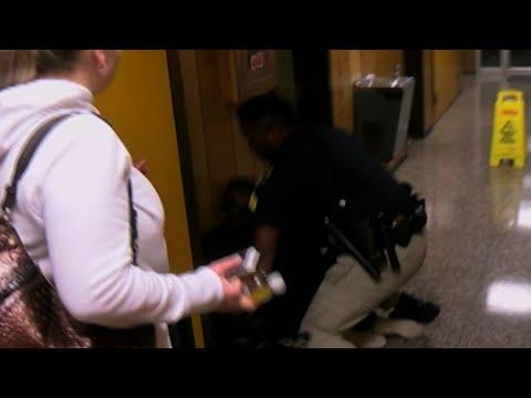 Louisiana Teacher Handcuffed By Officer