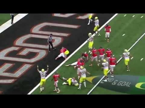 Thomas - Oregon ( American Football ) So much SPEED and So much DODGE