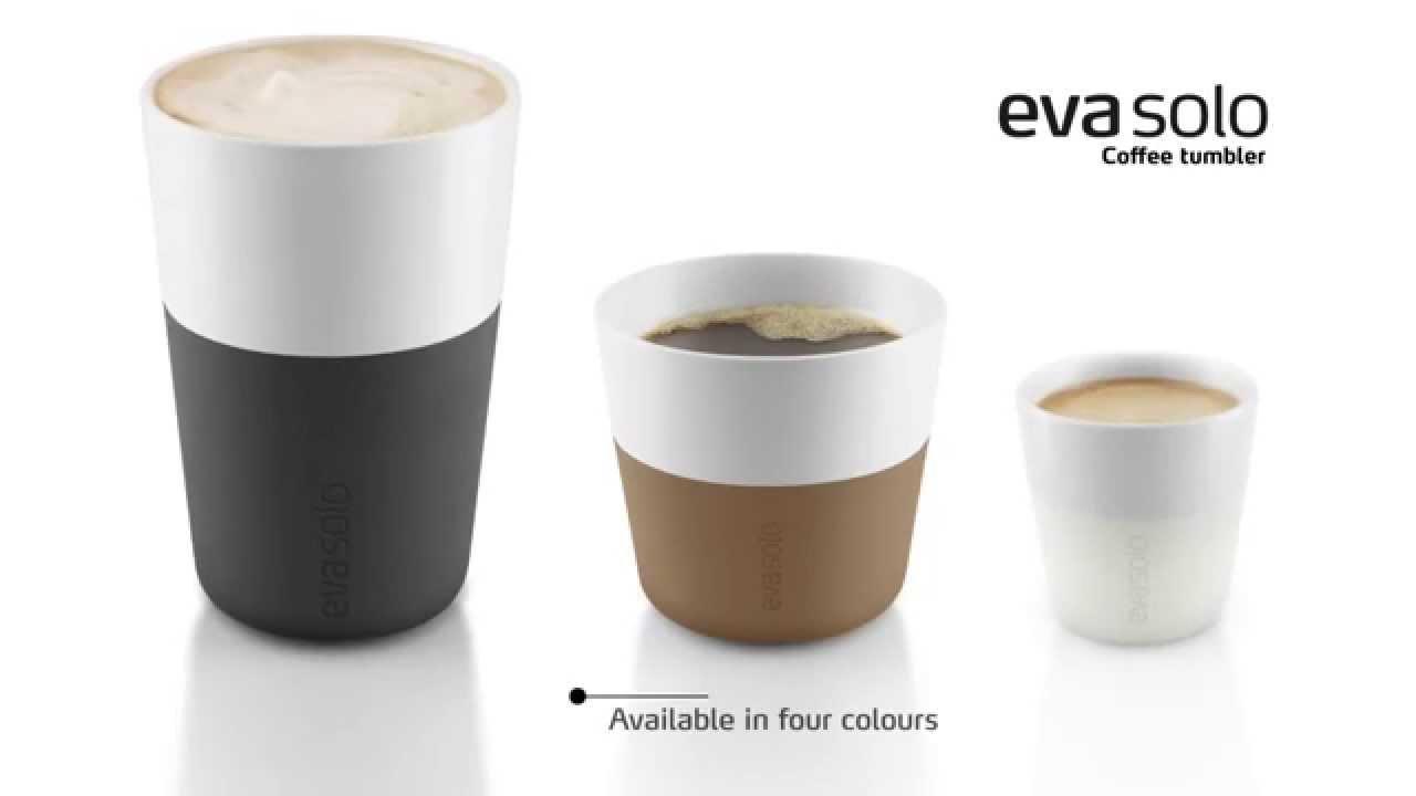mugs lungo latte expresso eva solo youtube. Black Bedroom Furniture Sets. Home Design Ideas
