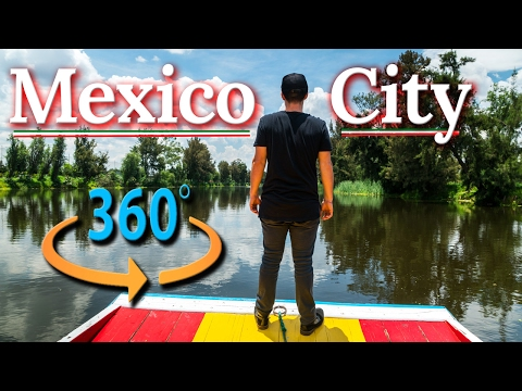 MEXICO CITY TOUR IN 360° |  4K Travel Guide