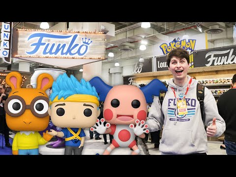 An In-depth Look at the ENTIRE Funko Pop Line up for 2020 at Toy Fair New York!