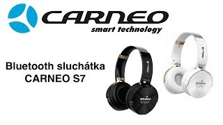Bluetooth  Sluchátka CARNEO S7 CZ