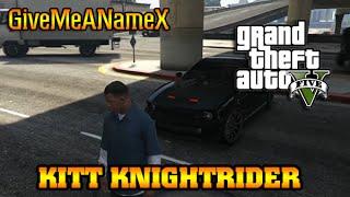 K.i.t.t KNIGHTRIDER CAR MOD GTA 5 GAMEPLAY PC