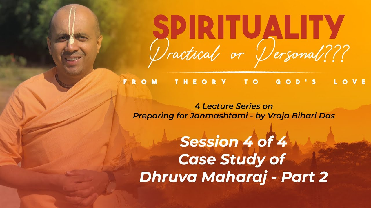 Spirituality Practical or Personal | From Theory to God's Love | HG Vraha Bihari Das | 07-08-2020