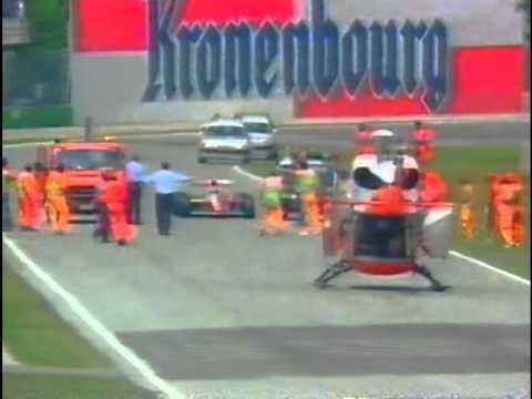 San Marino Grand Prix 1994 - Erik Comas incident