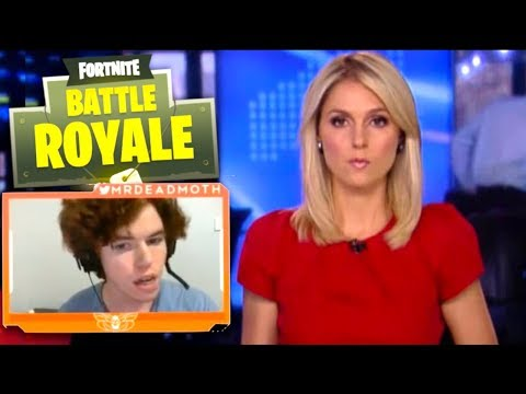 Australian News blames FORTNITE for Streamer hitting Girlfriend??