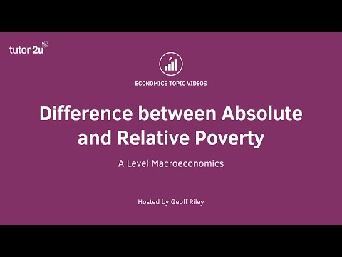 Difference between Absolute and Relative Poverty