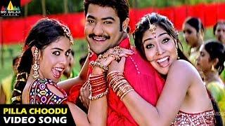 Naa Alludu Songs | Pilla Choodu Video Song | Jr.NTR, Shriya, Genelia | Sri Balaji Video