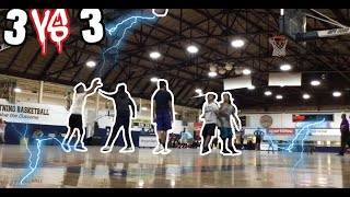 FUNNY 3V3 GAME OF BASKETBALL
