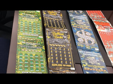 Live Scratch Card Lotto Tickets - $10 and $20 Lottery Tickets