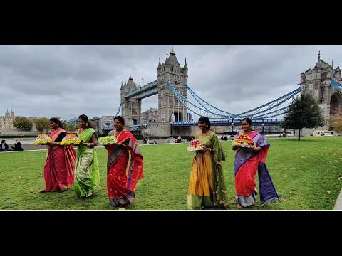London Bathukamma 2020 TAUK Tower Bridge - Media
