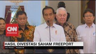 Download Video Jokowi: Hari ini Momen Bersejarah, Inalum Lunasi 51% Saham PT Freeport MP3 3GP MP4
