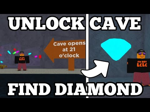 How To OPEN The CAVE \u0026 Find The SECRET DIAMOND In Bitcoin Miner ROBLOX