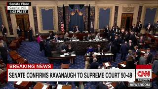 Senate Confirms Brett Kavanaugh To Supreme Court, Rejects Me Too Movement