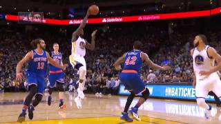 All 41 Golden State Warrior Assists vs New York | 12.15.16