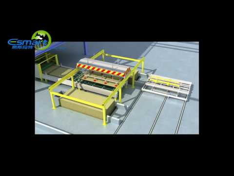 3D Video of E-Smart Magnesium Mineral Board Production Line