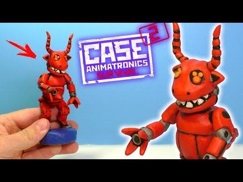 ЛЕПИМ БЫКА АНИМАТРОНИКА из игры CASE 2: Animatronics Survival