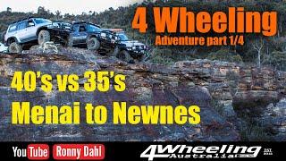 4 Wheeling Adventure, 40's vs 35's, Menai to Newnes part 1/4