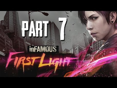 inFamous First Light Gameplay Walkthrough Part 7 - NEW POWER (inFamous Second Son DLC)