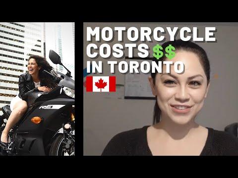 Motorcycle Costs- Toronto, Canada