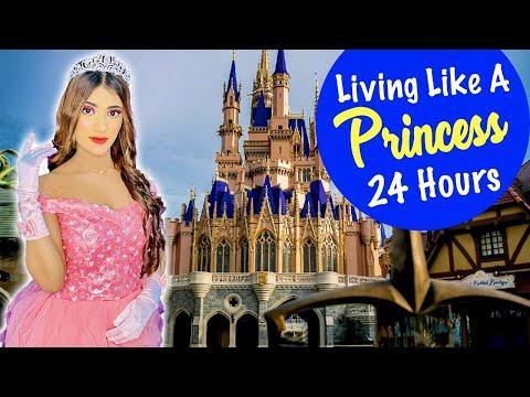 Living Like A *PRINCESS* For 24 HOURS Challenge   SAMREEN ALI